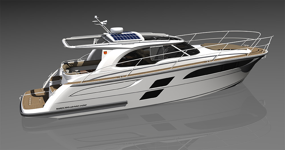New Marex 360 Cabin Cruiser!