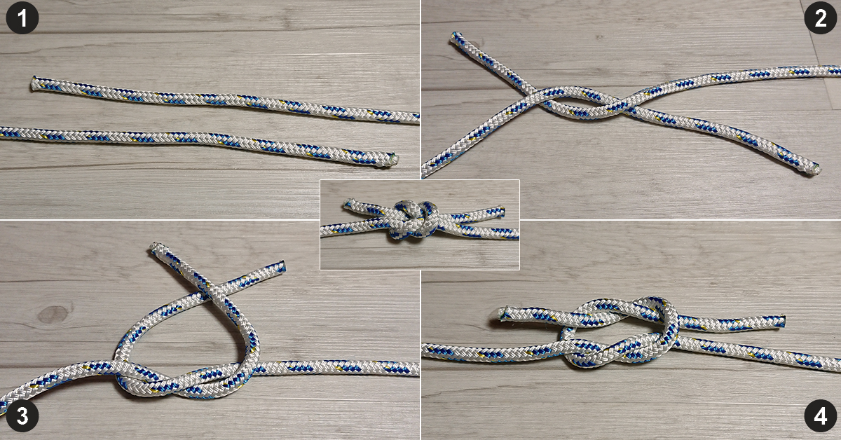 Sheet band knot
