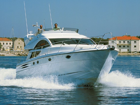Bareboat Motoryacht Fairline Phantom 50 Luna IV (Jet ski - option with extra charge) - For Charter - Details