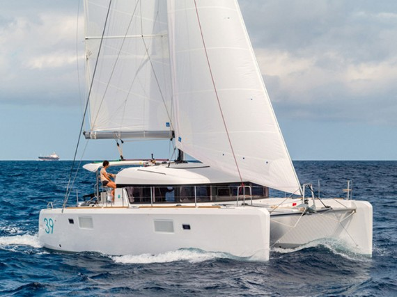 Bareboat Catamaran Lagoon 39 2016 Bob Cat (Solar panel) - For Charter - Details