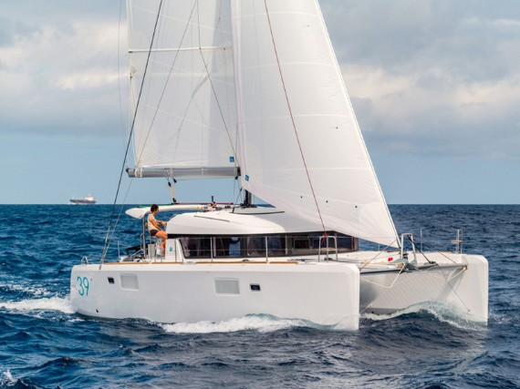 Bareboat Catamaran Lagoon 39 My cat (Solar panel) - For Charter - Details