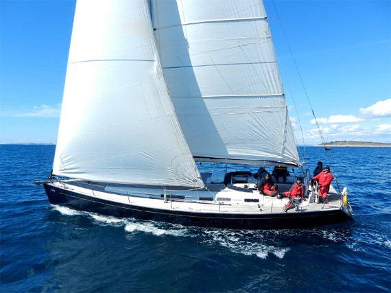 Bareboat Sail boat Grand Soleil 50 Kety (Sails 2019, Bowthruster) - FOR RENT - Details