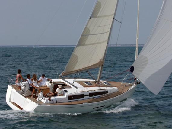 Bareboat Sail boat Dufour 375 GL China girl (Bowthruster, full teak deck, sails 2018) - FOR RENT - Details