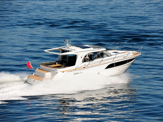 Bareboat Motor boat Marex 375 North star (AC, Generator, Bowthruster, Sterntruster) - FOR CHARTER - Details