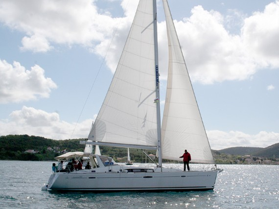 Bareboat Sail boat Oceanis 50 Pika II (Bowthruster, Sails 2020, AC + generator) - FOR RENT - Details