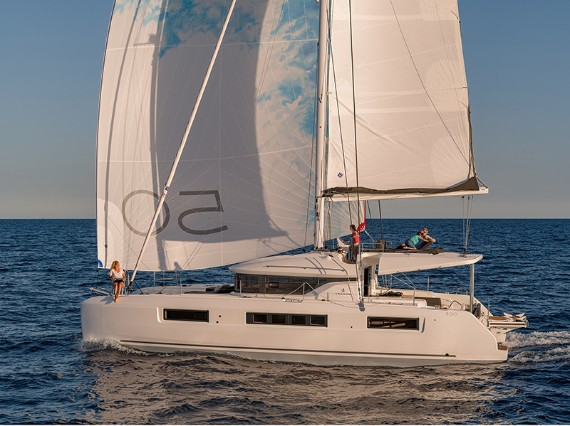 Crewed Catamaran Lagoon 50 Zuzo 1 - NEW IN FLEET! - For Charter - Details