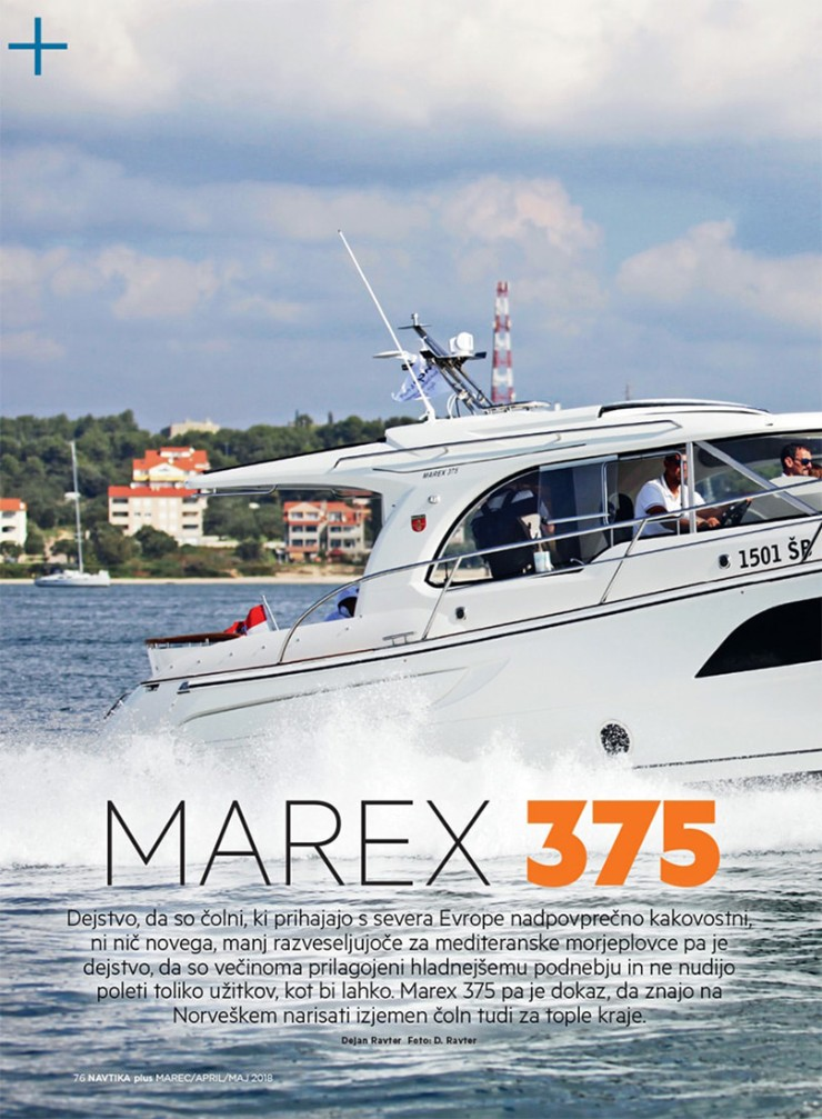 Marex boats press release 2018!