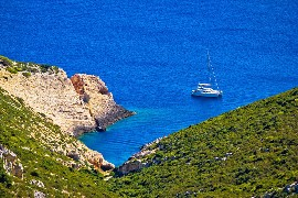 Hidden Bay On Vis island